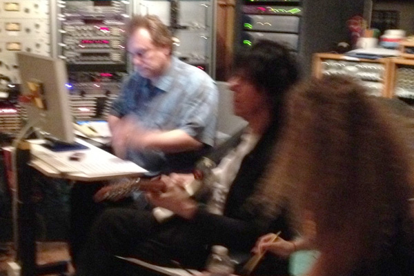with Jeff Beck