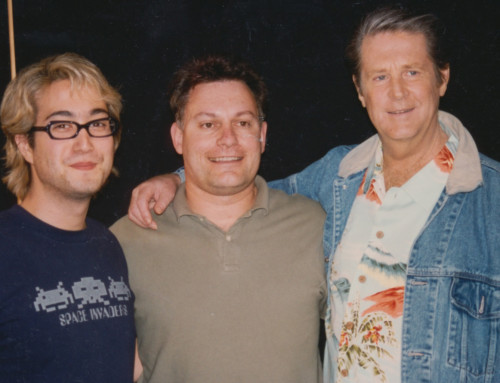 With Brian Wilson and Sean Lennon
