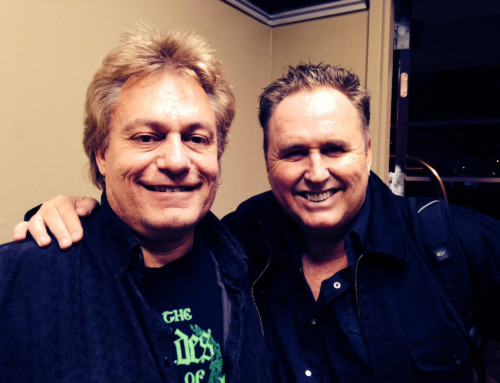 With Mike Reno of Loverboy